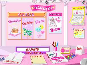 superkids software review of barbie print n play