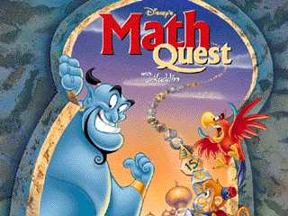 Disney's Math Quest Screen Shot