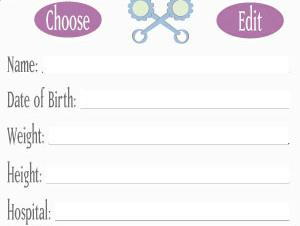 Superkids software review of its my baby journal its my baby journal screen shot pronofoot35fo Images