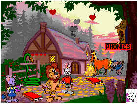 Reader Rabbit Screen Shot