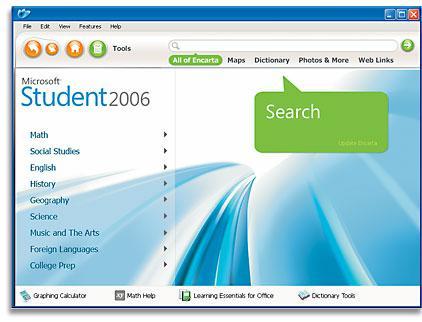 collection microsoft encarta 2006 gratuit